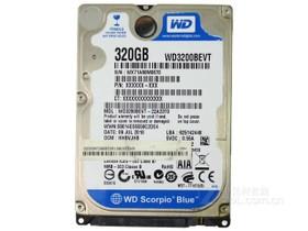 WD Scorpio Blue 320GB 5400转 8MB SATA2(WD3200BEVT)