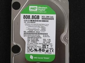 西部数据808.8GB 5400转 32MB SATA2 绿版(WD8088AADS)