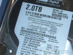 西部数据RE4系列 2TB 7200转 64MB SATA(WD2002FYPS)