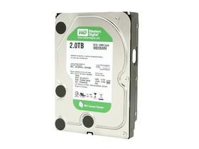 西部数据2TB 5400转 64MB SATA3(WD20EARX)