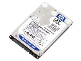 西部数据Scorpio Blue 1TB 5400转 8MB SATA2(WD10JPVT)笔记本