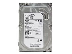 希捷Desktop 2TB 7200转 8GB混合硬盘(ST2000DX001)