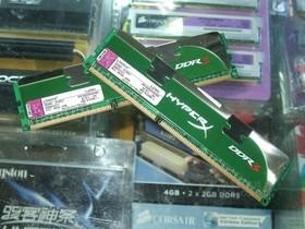 金士顿4GB DDR3 1600(LoVo HyperX系列/KHX1600C9D3LK2/4GX)