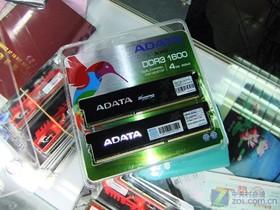 威刚4GB DDR3 1600G(游戏威龙双通道)