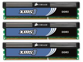 海盗船6GB DDR3 1600套装(CMX6GX3M3A1600C9)