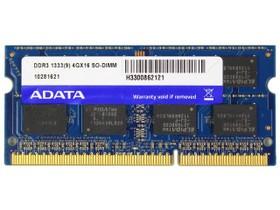 威刚4GB DDR3 1333笔记本
