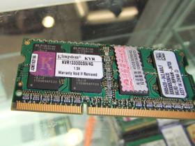 金士顿4GB DDR3 1333(笔记本)