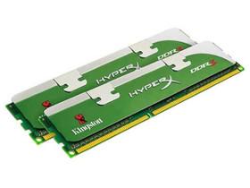 金士顿4GB DDR3 1800骇客神条套装(KHX1800C9D3LK2/4GX)