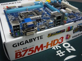 技嘉GA-B75M-HD3