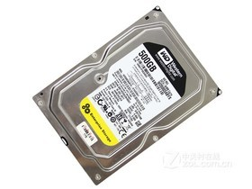 西部数据500GB 7200转 64MB SATA2 RE4单碟(WD...