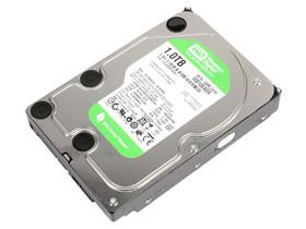 西部数据1TB 5400转 32MB SATA3 绿盘(WD10EADX)