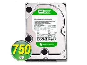 西部数据750GB 5400转 64MB SATA2 绿盘(WD7500AARS)