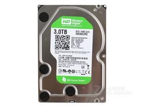 西部数据3TB 7200转 64MB SATA3 绿盘(WD30EZR...