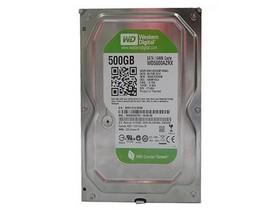 西部数据Caviar Green 500GB 7200转 64MB SATA3(WD5000AZRX)