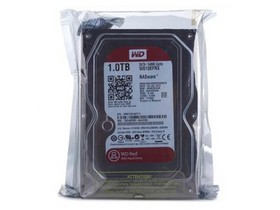 西部数据1TB 7200转 64MB SATA3 红盘(WD10EFRX)
