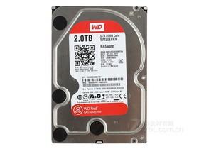 西部数据2TB 7200转 64MB SATA3 红盘(WD20EFR...