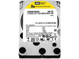 西部数据300GB 10000转 32MB SATA3 企业级(WD3001BKHG)