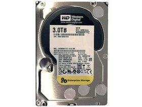 西部数据RE4 3TB 7200转 64MB SATA3 企业级(WD3000FYYZ)