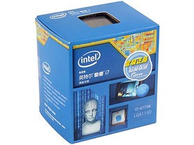 Intel 酷睿i7 4770K(盒)高端装机必备CPU