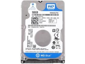 西部数据500GB 5400转 8M SATA3 蓝盘(WD5000L...